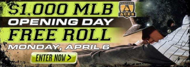 Fantasy Aces $1000 MLB Opening Day Freeroll