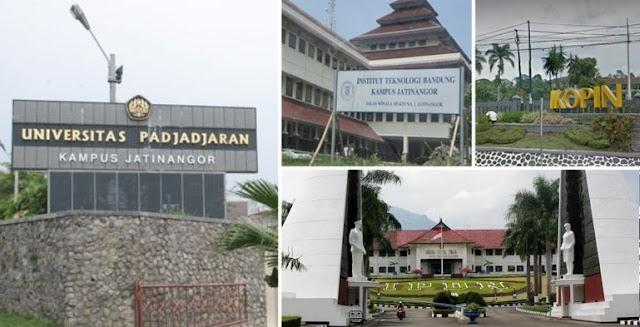 Mengenal Perguruan Tinggi di Kawasan Pendidikan Jatinangor