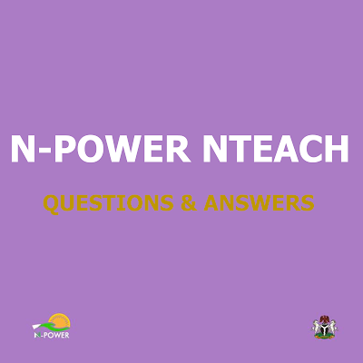 npower nteach assessment test questions and annswers