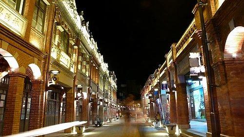 三峽老街夜景|三峽景點|三峽古蹟老屋