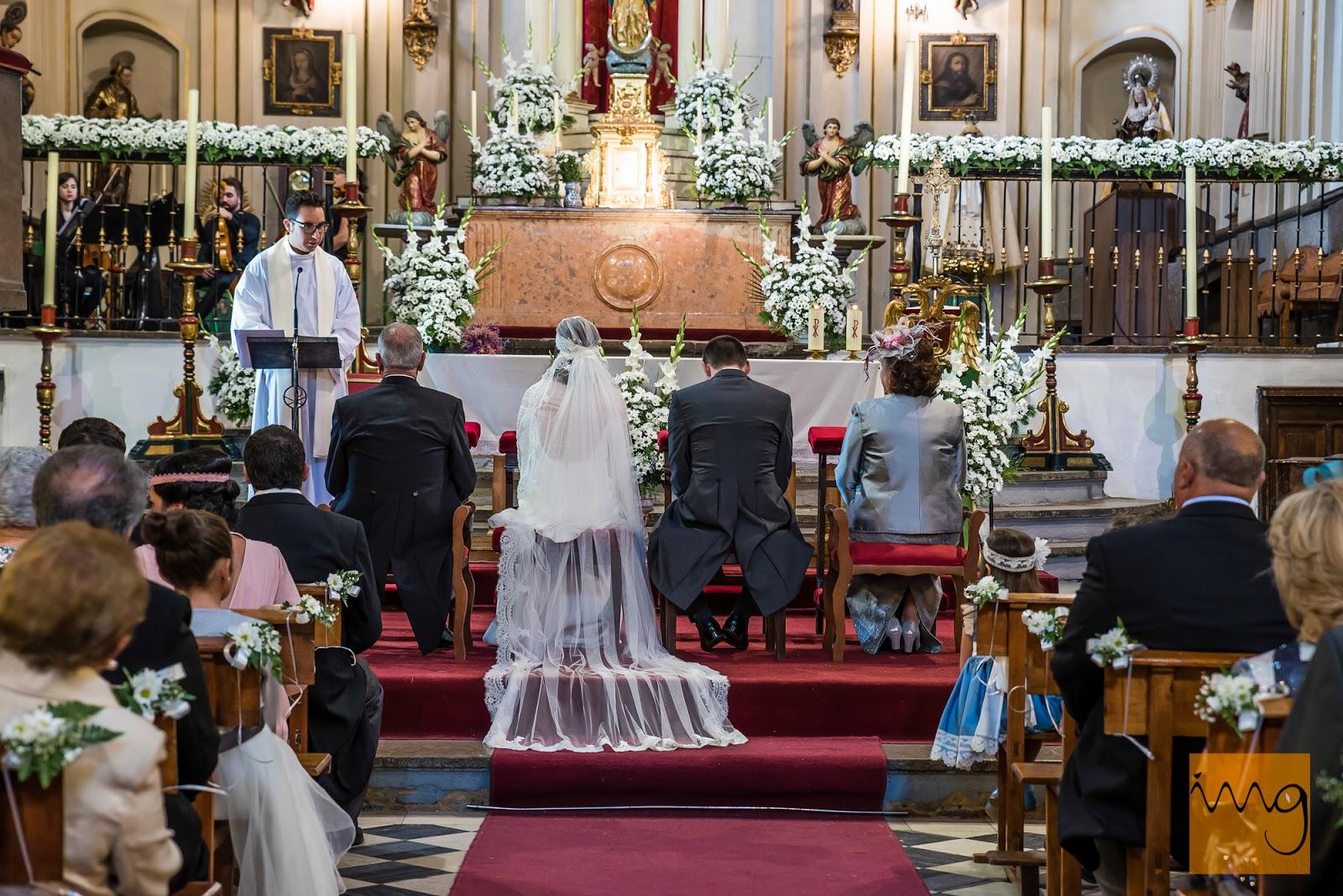 Fotografía de boda, Iglesia de Santa Ana en Granada