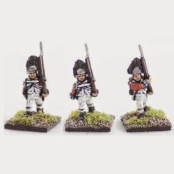 AWB5 British Grenadiers, 1768 warrant, march attack.