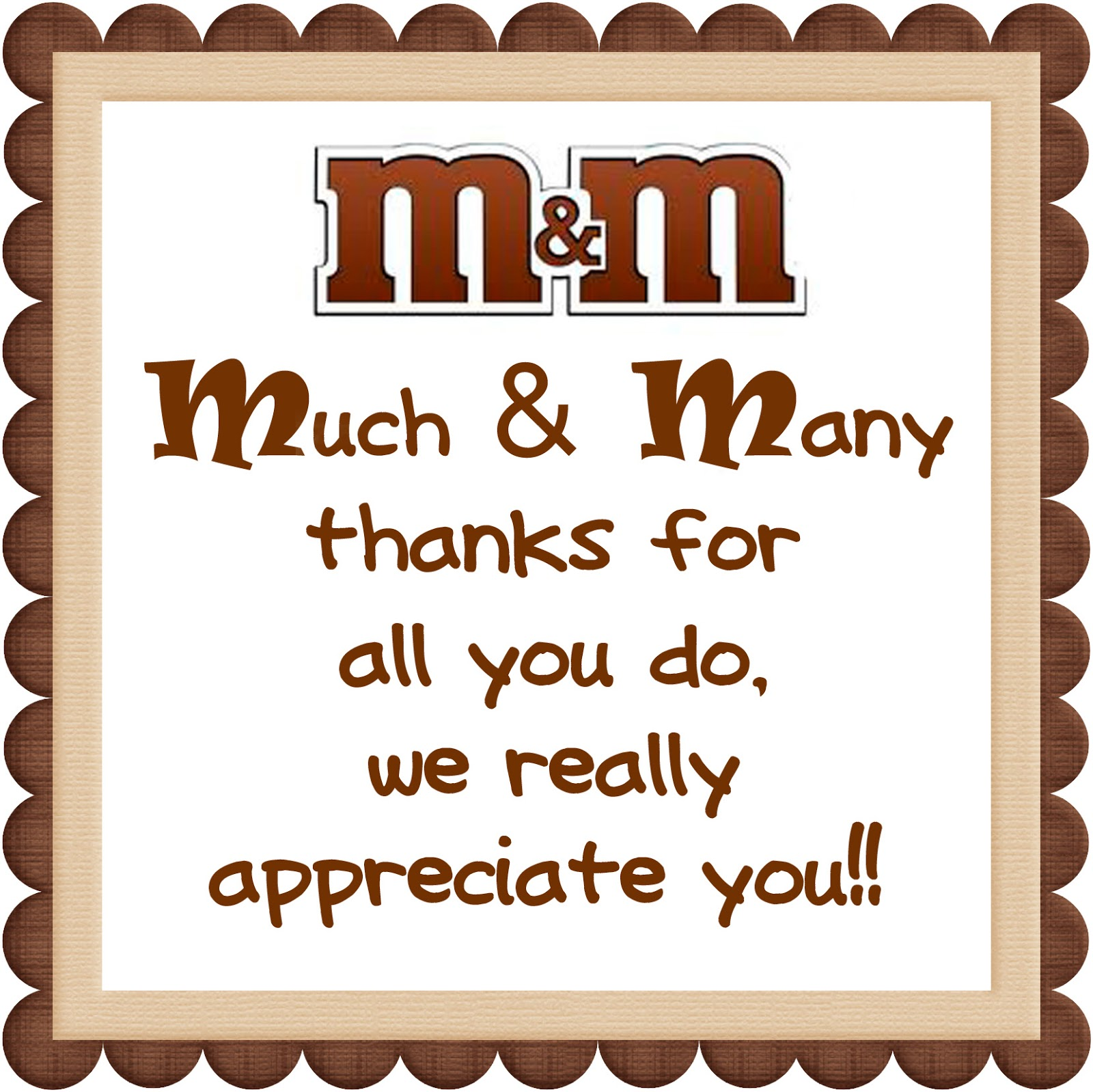 We Love Being Moms Candy Bar Printables