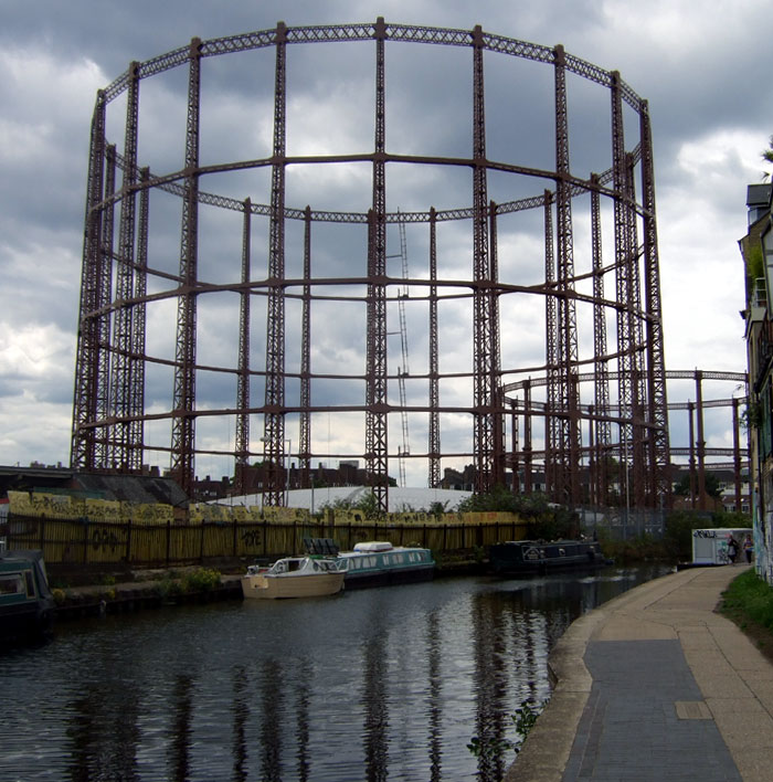 London City of Science: Haggerston Gas Works