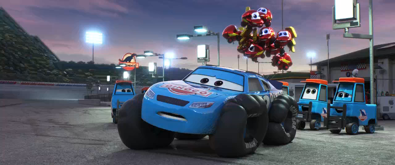 Cars 3 (2017) BRRip 720p Audio Dual Latino - Ingles captura 1