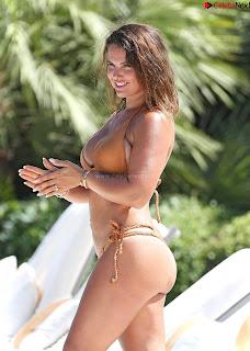 Rebekah Vardy  in Bikini CELEBRITY.CO Exclusive Celebrity Pics 002