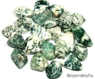Kristálygyógyászat/Gyógyító kövek: Faachát (kvarc)