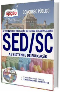 Apostila concurso SED-SC 2017 Assistente de Educação