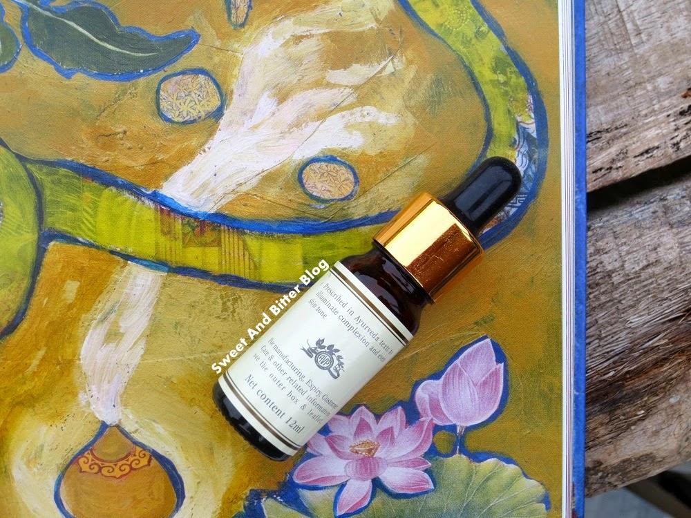Kama Ayurveda KUMKUMADI Miraculous Beauty Fluid // Ayurvedic Night Serum
