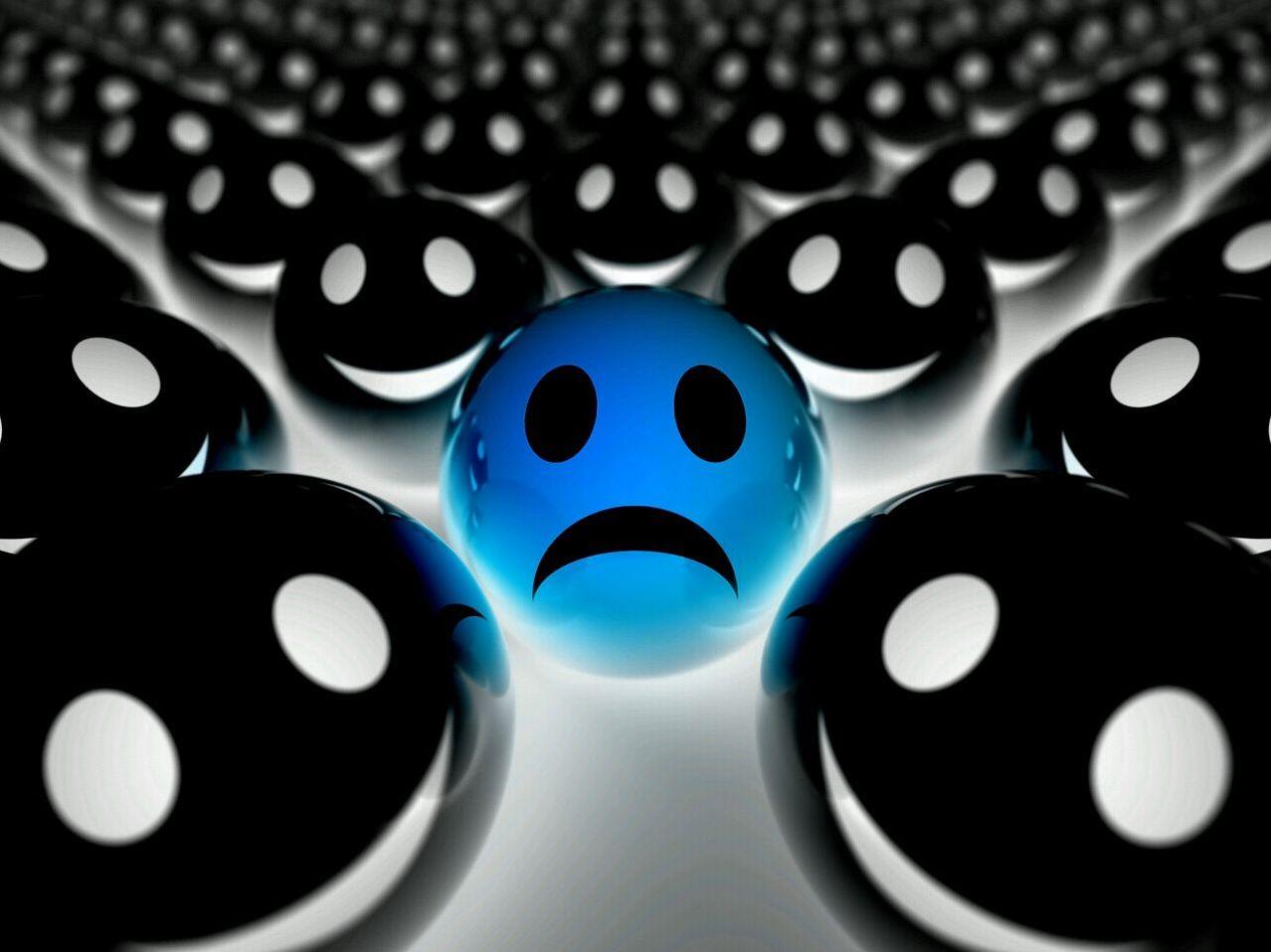 Cara Triste Y Cara Feliz