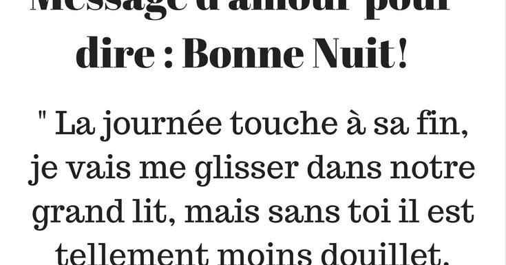 Sms Damour Pour Dire Bonne Nuit Sms Damour Et Messages