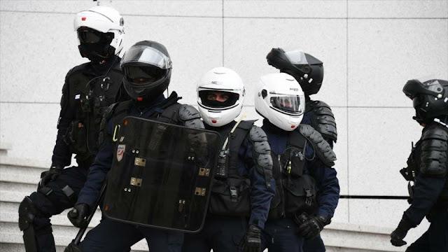 Francia despliega 60 000 agentes contra chalecos amarillos