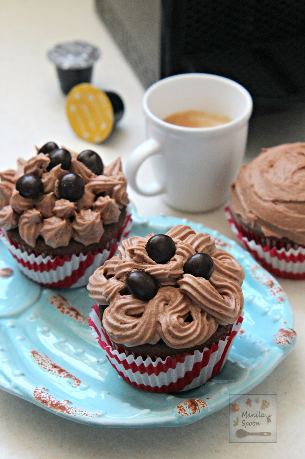 Chocolate Cappuccino Cupcakes
