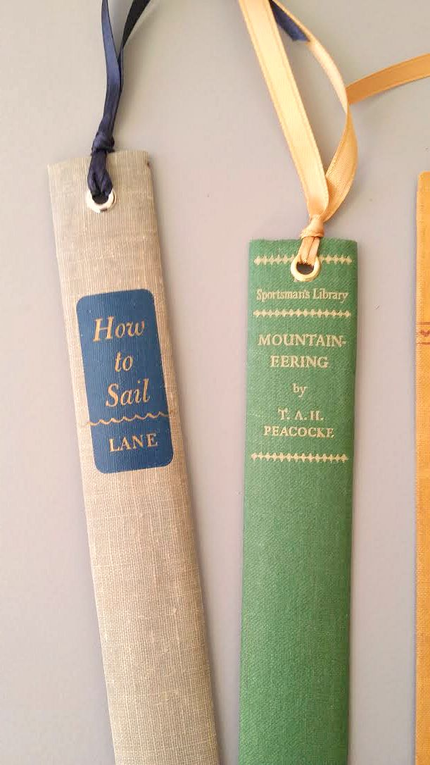 Awesome Bookmarks From Old Books Crafts A La Mode