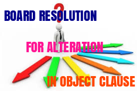 BOARD-RESOLUTION-ALTERATION-OBJECT-CLAUSE