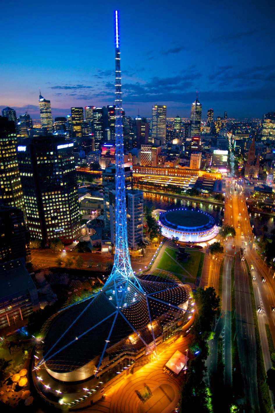 Melbourne, Australia 10 Beautiful Cities in Australia