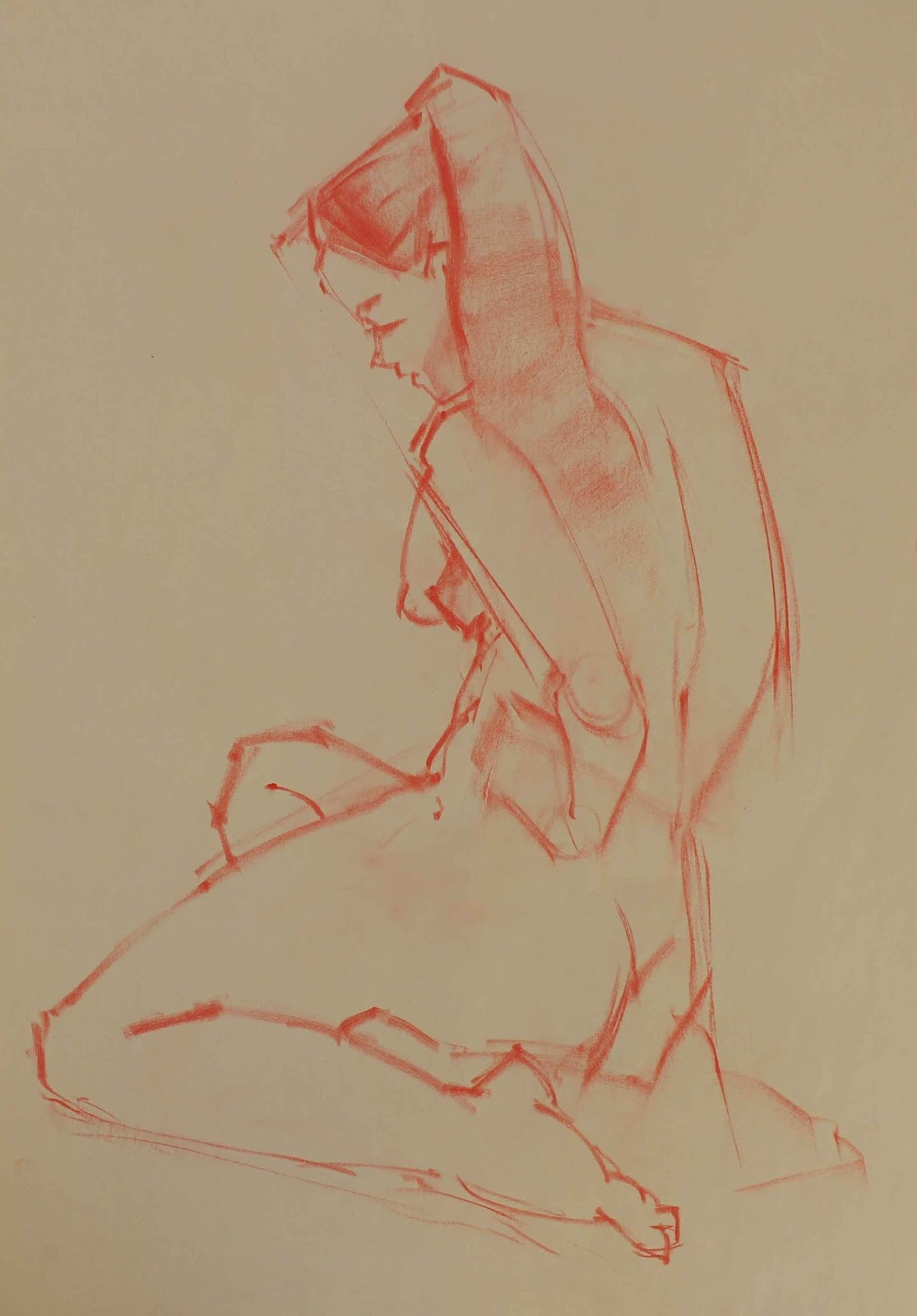 Figure Drawing lectures part one-The Gesture | Jeanette Lee Art