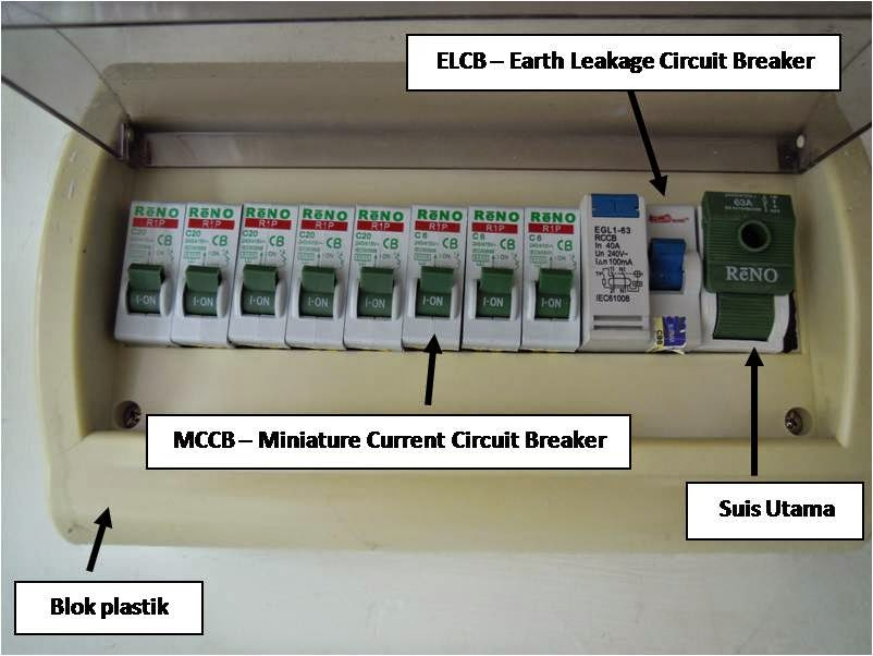 Pendawaian Elektrik Rumah Kediaman Asas Elektrik
