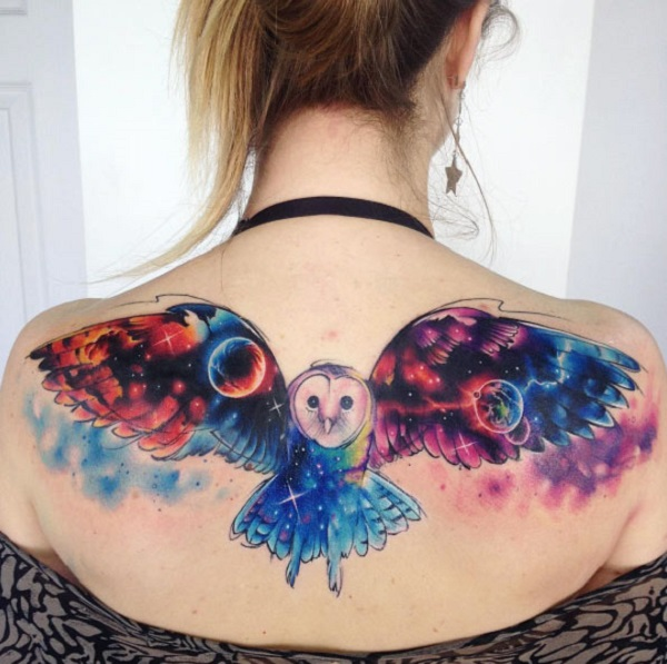 tatuagem cósmica