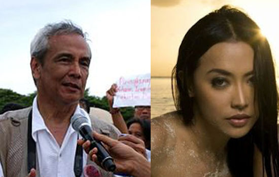 Sexy girl group leader hit back Jim Paredes on Duterte's issue