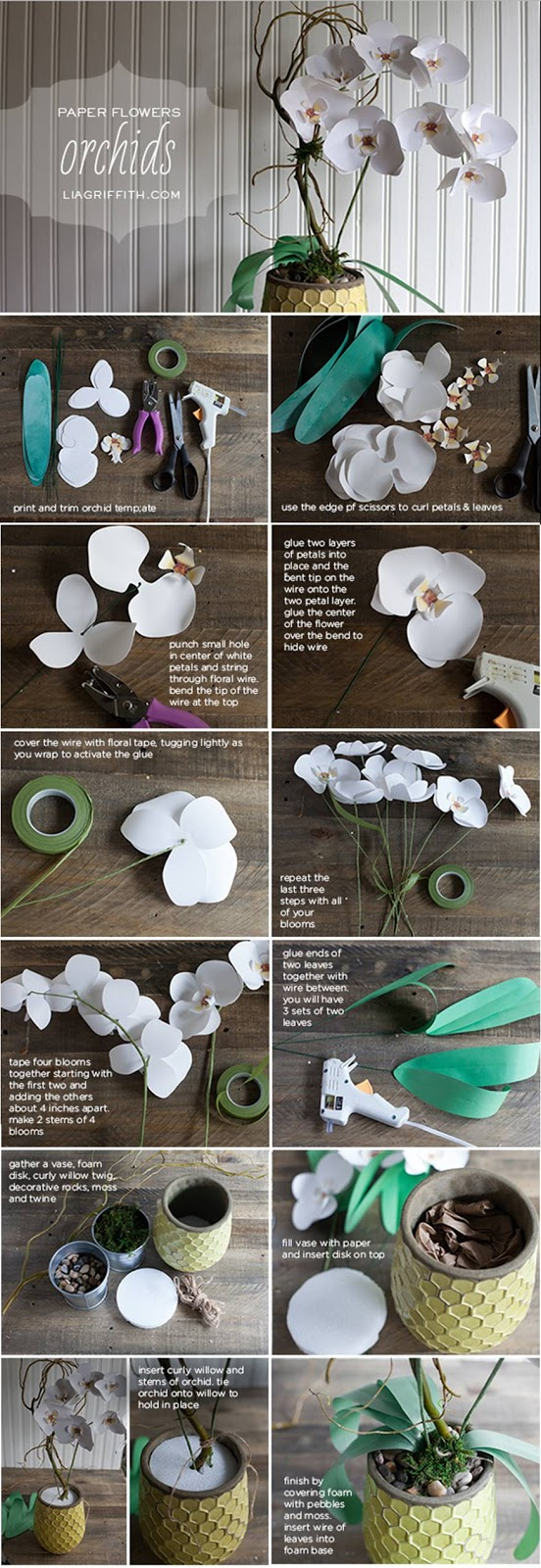 DIY Flower Crafts For Your Home Decor Ideas