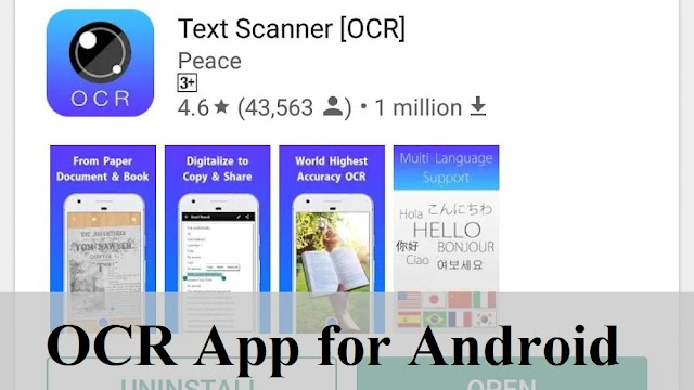 Text Scanner - OCR app for Android
