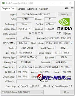 GPU-Z 2.4.0 + ASUS ROG Skin Terbaru Gratis