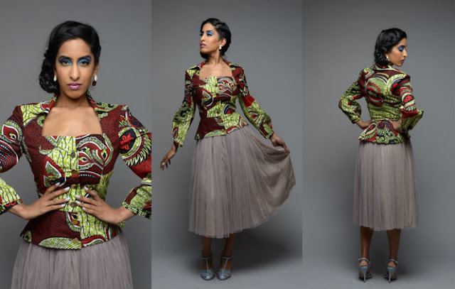 modern african print clothing