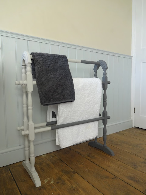 quirky vintage towel rail