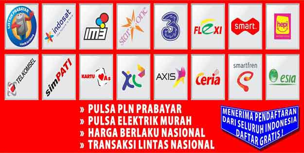 Kios Pulsa Murah Distributor Pulas All Operator