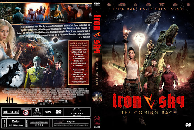 Iron Sky: The Coming Race DVD DVD Cover