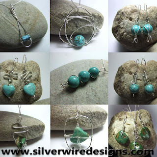 turquoise necklaces and earrings
