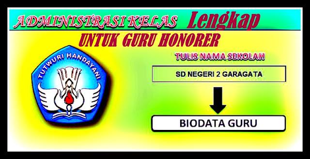 Download Administrasi Kelas Lengkap GURU Honorer