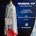 Mukena Vip Blue Flower Paris