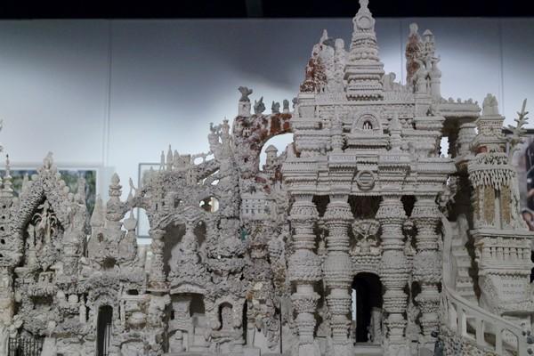 drôme hauterives palais idéal facteur cheval musée maquette façade est monument égyptien