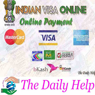 Online Indian Visa Application Processing Fee Payment For Bangladesh