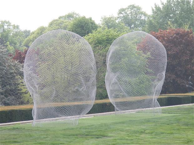 Guttae Jaume Plensa Yorkshire Sculpture Park