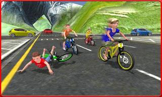 Kids Bicycle Rider Street Race Apk v1.0 (Mod Money)