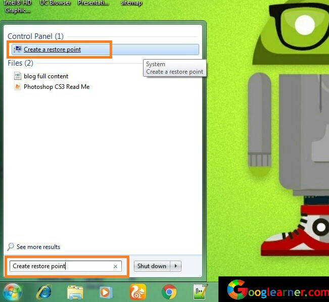 fix PC issues in one click system restore