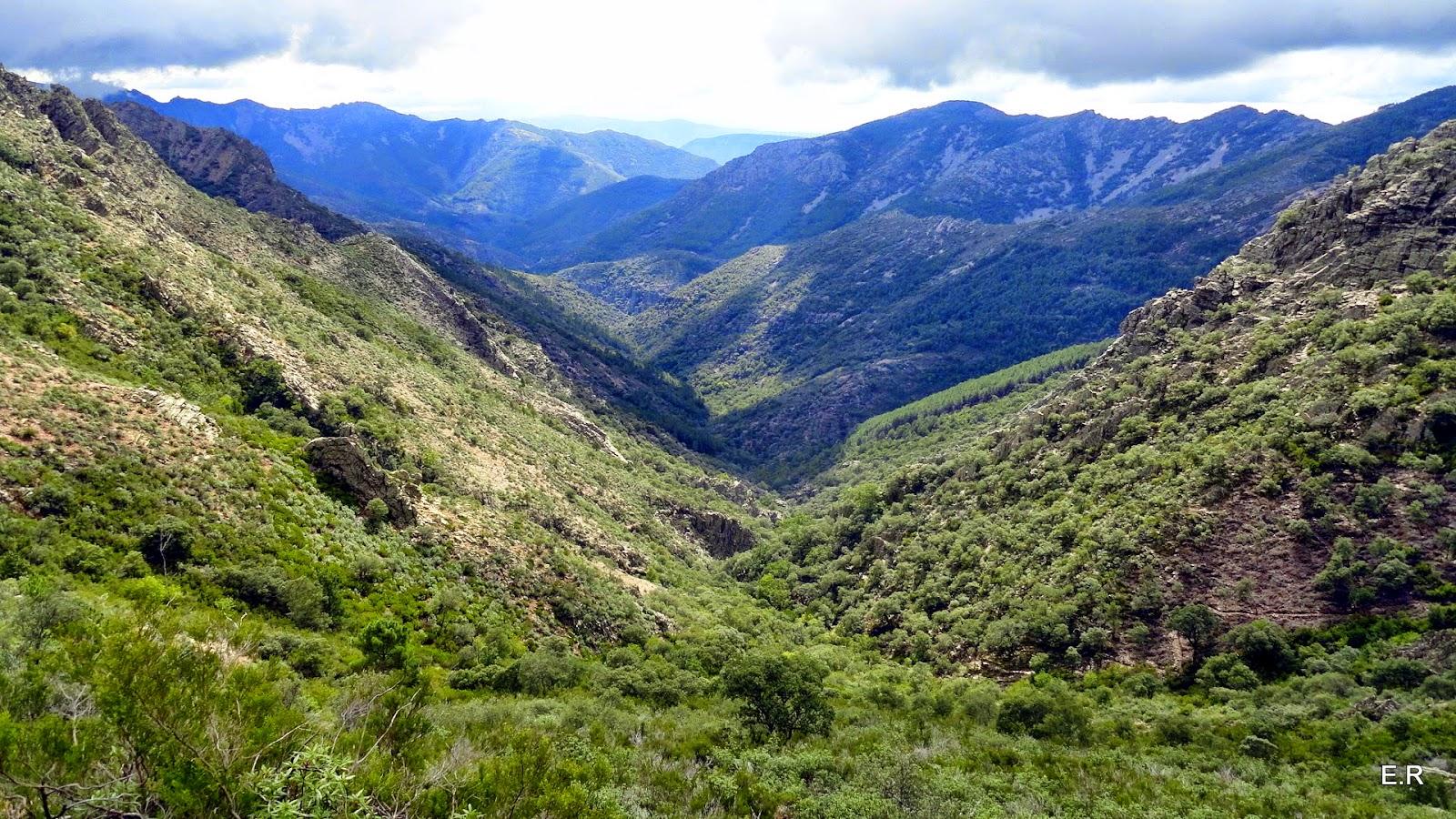 El valle de Las Batuecas.