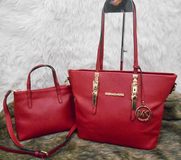 Tas Branded Michael Kors Jollie 2 in 1