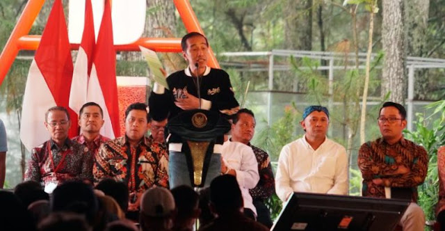 Jokowi Bagikan SK Perhutanan Sosial Seluas 8.600-an Hektar