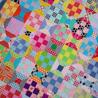 Spool and Nine Patch Block ~ TUTORIAL   RED PEPPER QUILTS