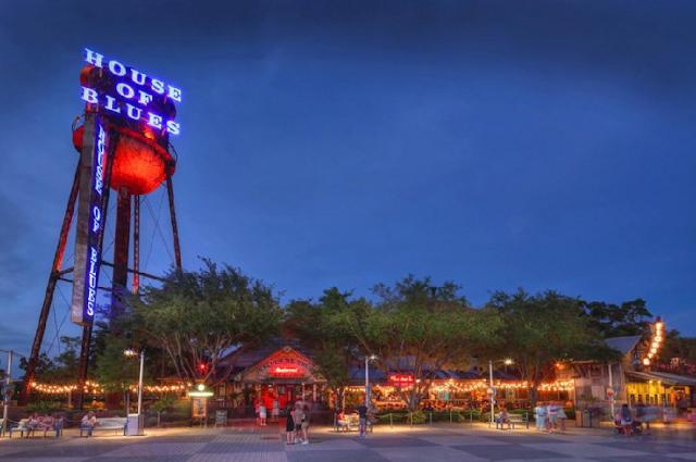 HOB Blues Bar em Orlando