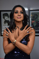 Sanjana looks happy in sparkling short Deep neck Purple Gown ~  Exclusive 54.JPG