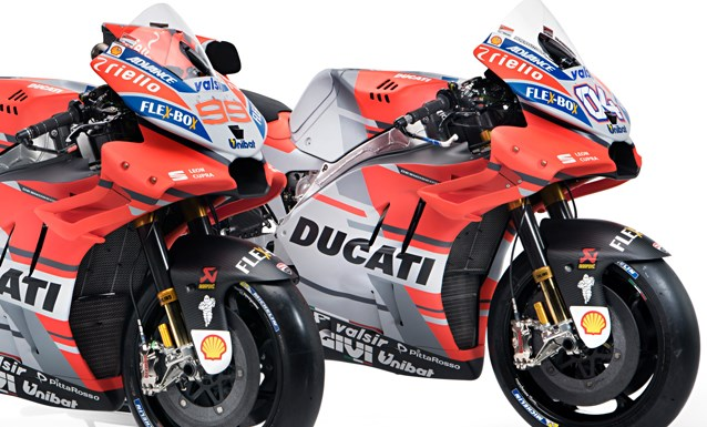 Inilah Ducati Desmosedici GP Untuk MotoGP 2018