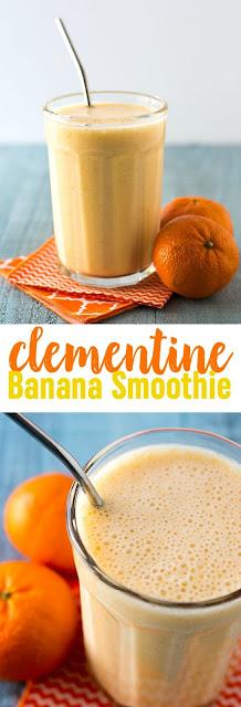 Clementine Banana Smoothie Recipe