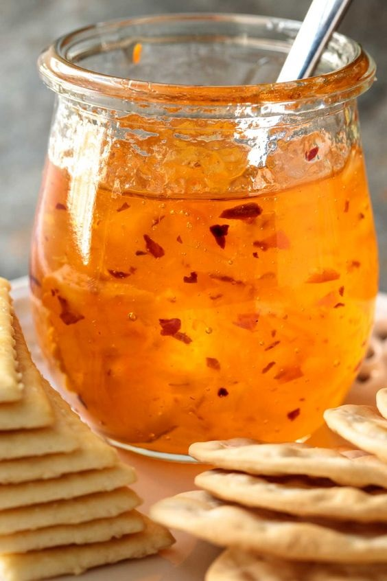 Pineapple Habanero Pepper Jelly