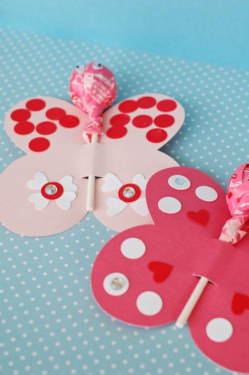 butterflies1 web - Valentines Craft For Kindergarten
