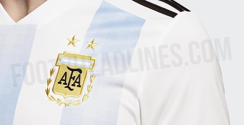 La extraña tipografía que usará Argentina en Rusia 2018